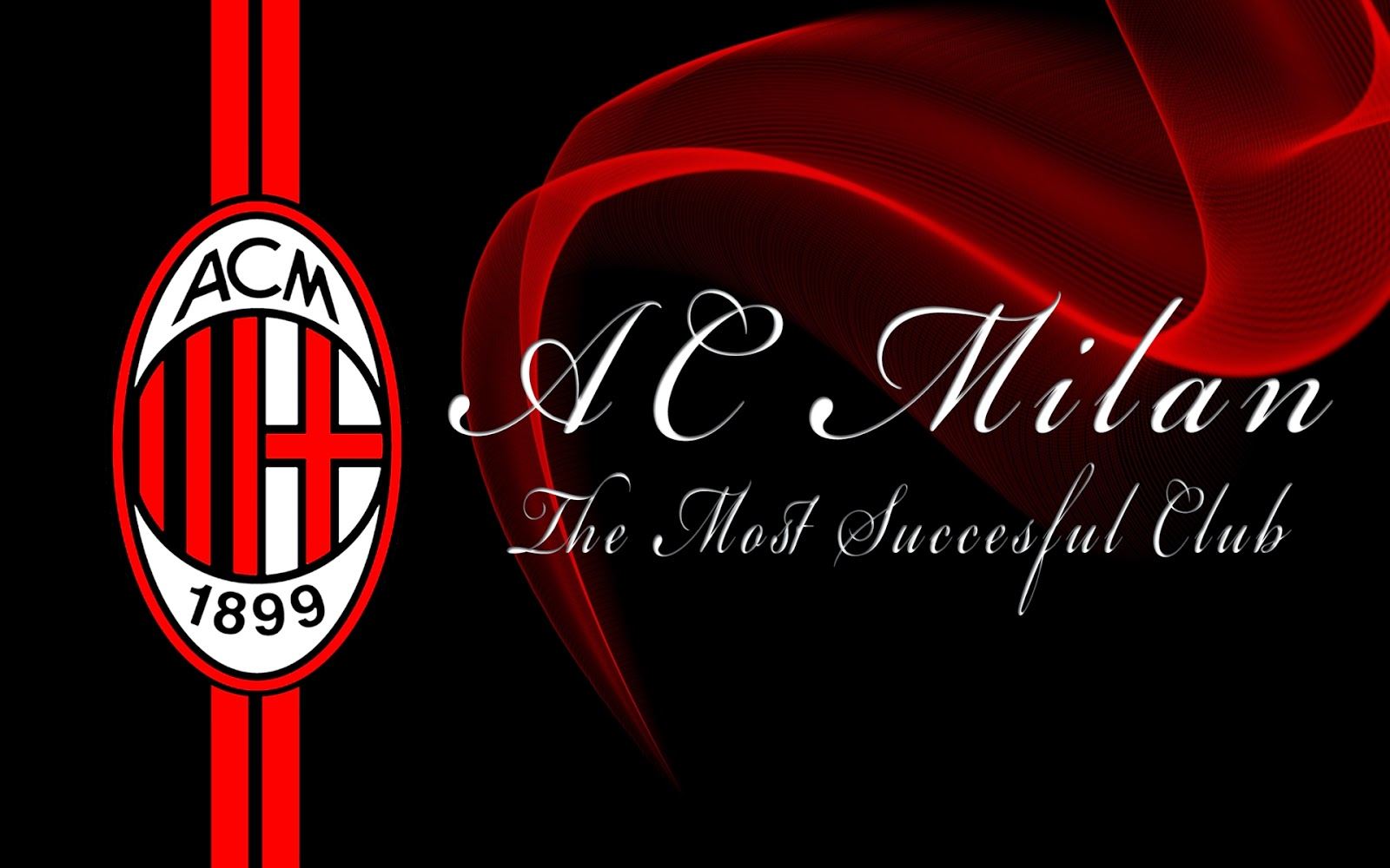 3D AC Milan Logo Wallpaper Android 10073 Wallpaper High Resolution 1600x1000