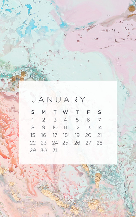 January 2017 Wallpapers 460x734
