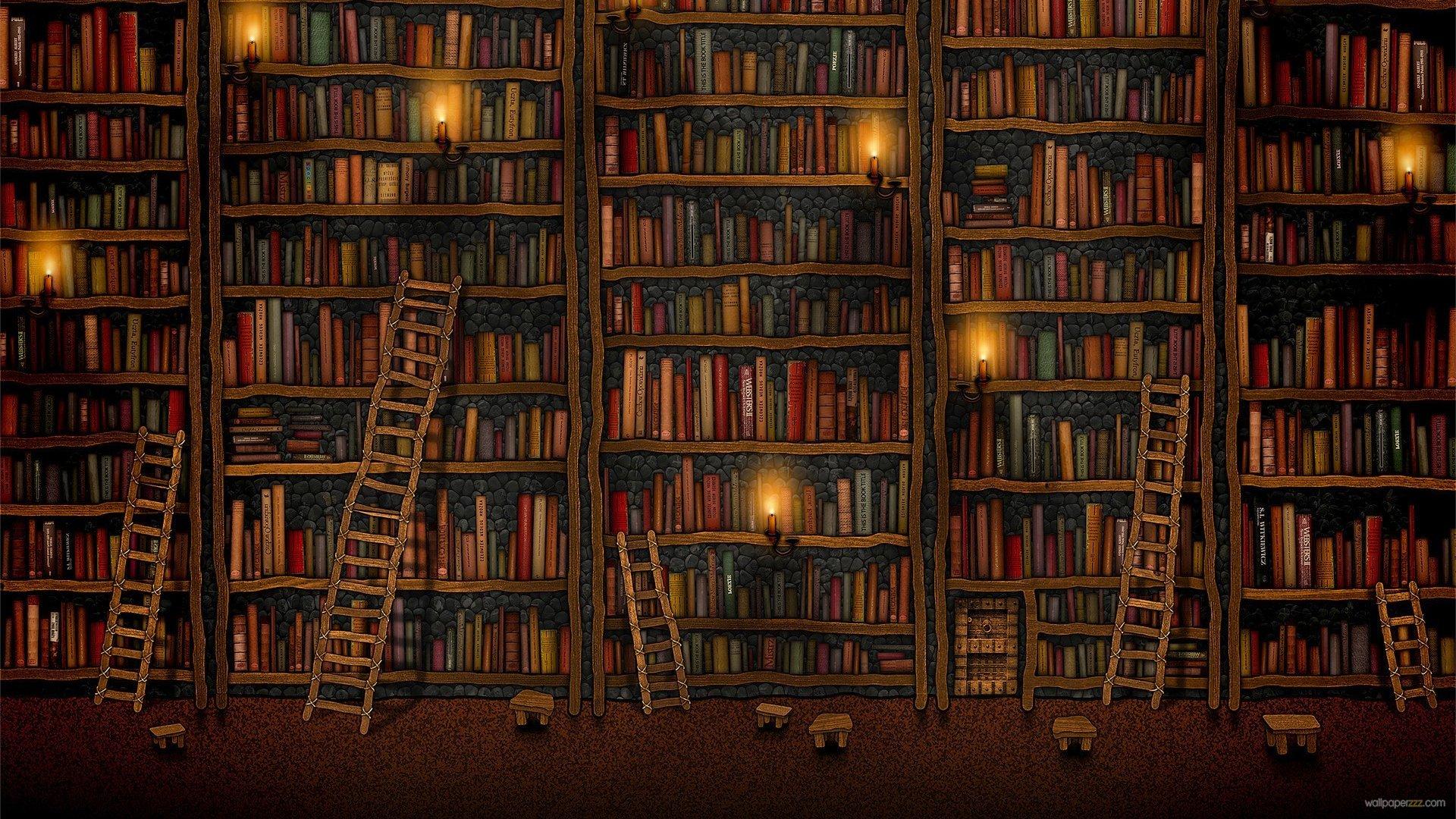41 Hd Library Wallpaper On Wallpapersafari