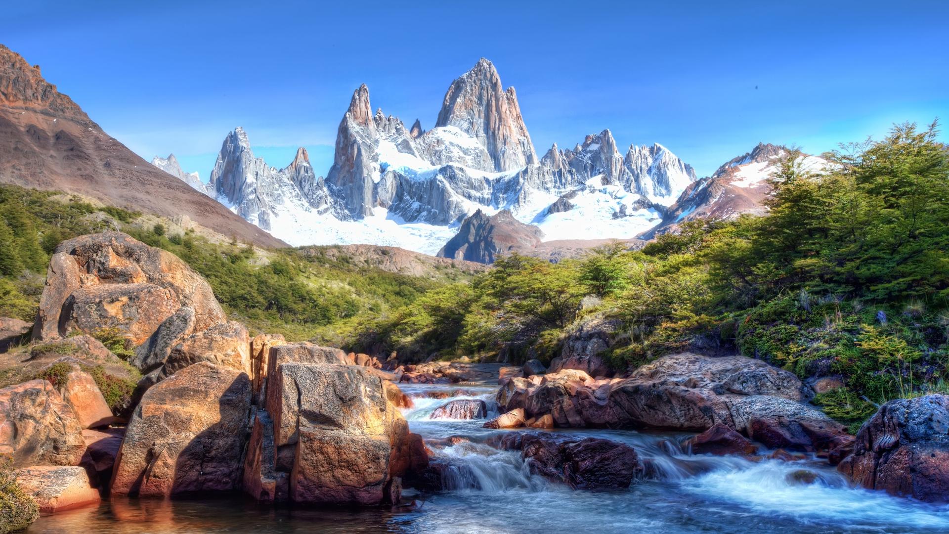 HD Mountain 1080p Wallpaper 1920x1080