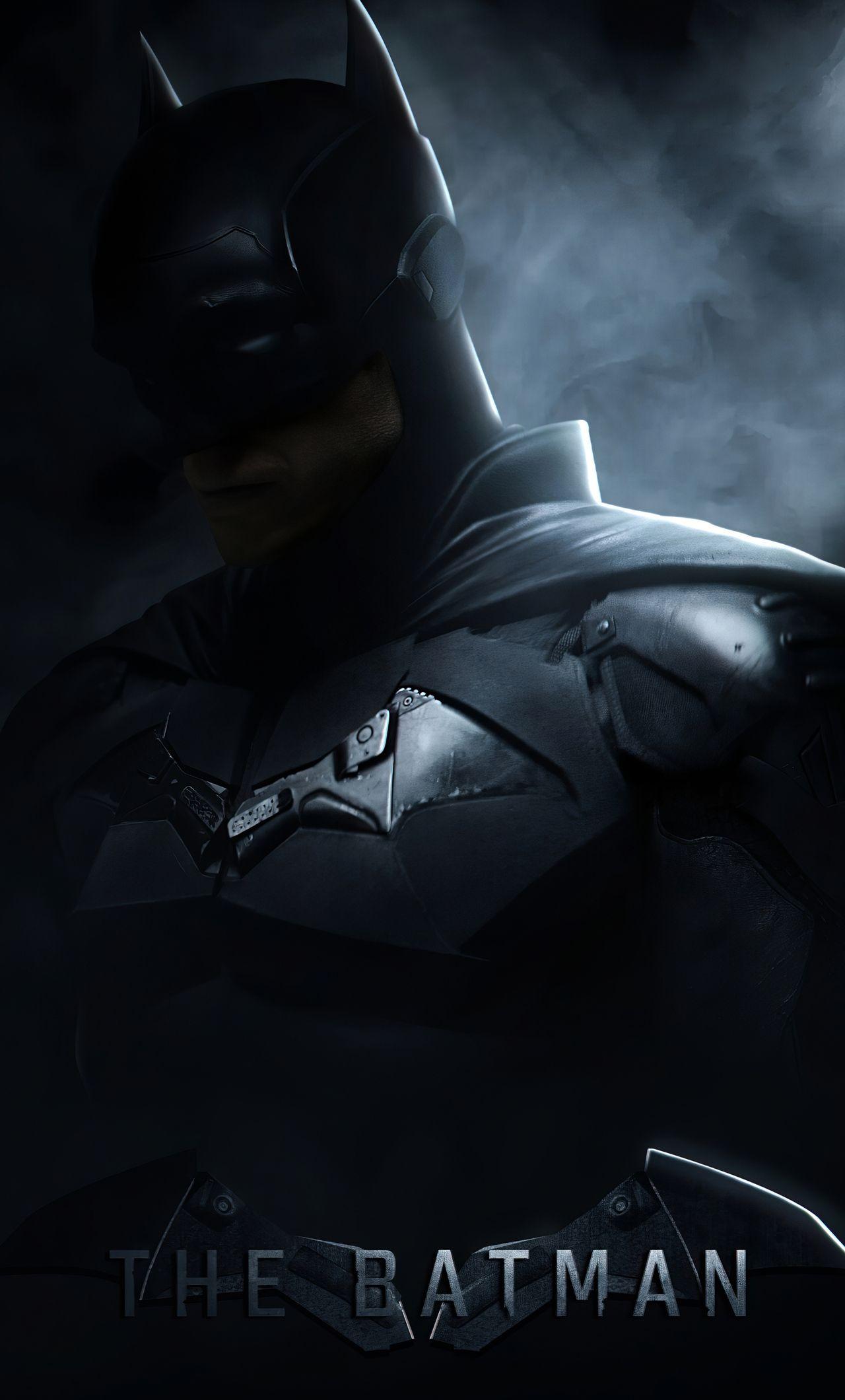 The Batman 2021 Logo Wallpapers 1280x2120