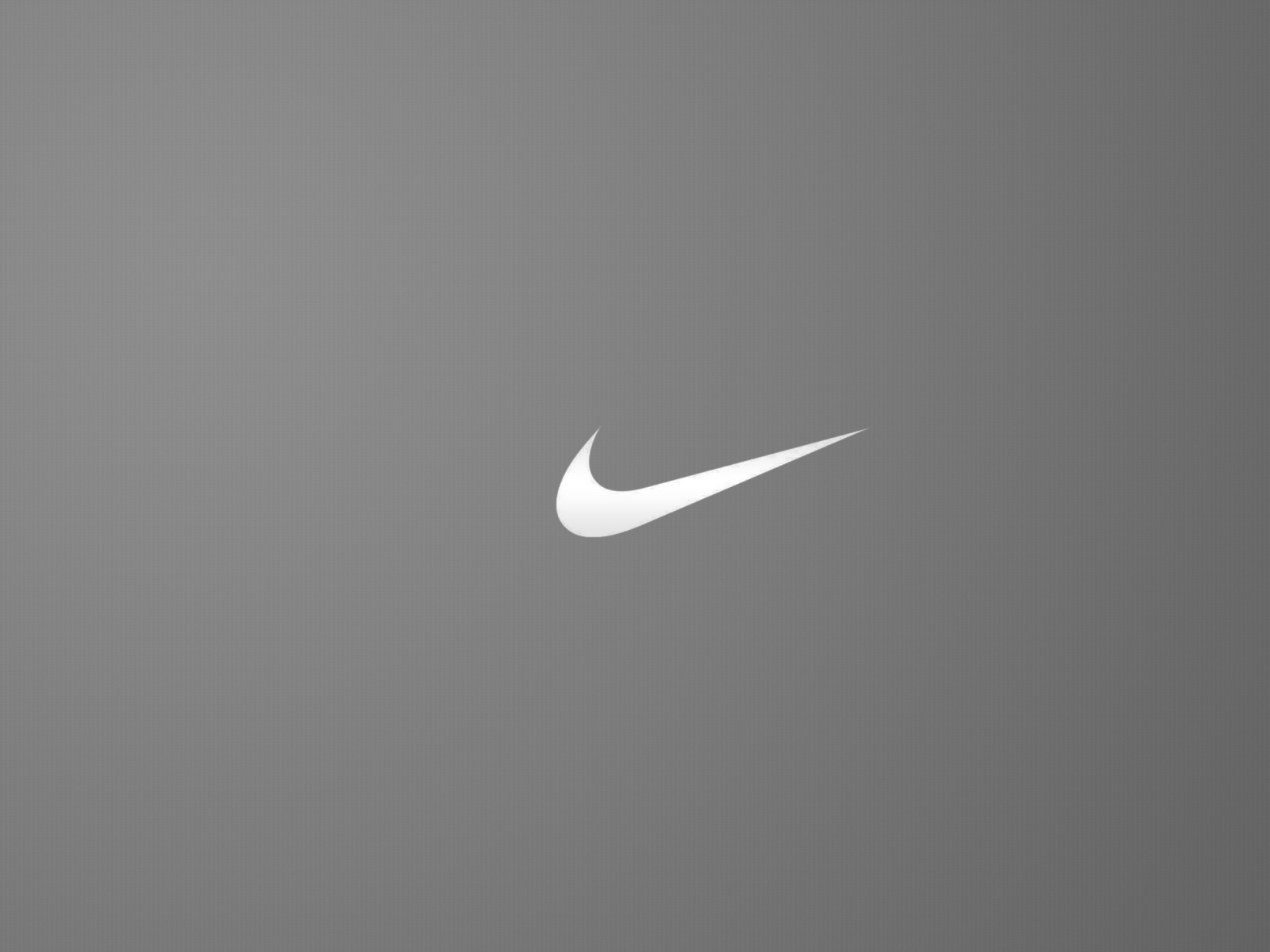 nike logo greyscale minimal hd wallpaper nike tick logo by tie nike 1600x1200