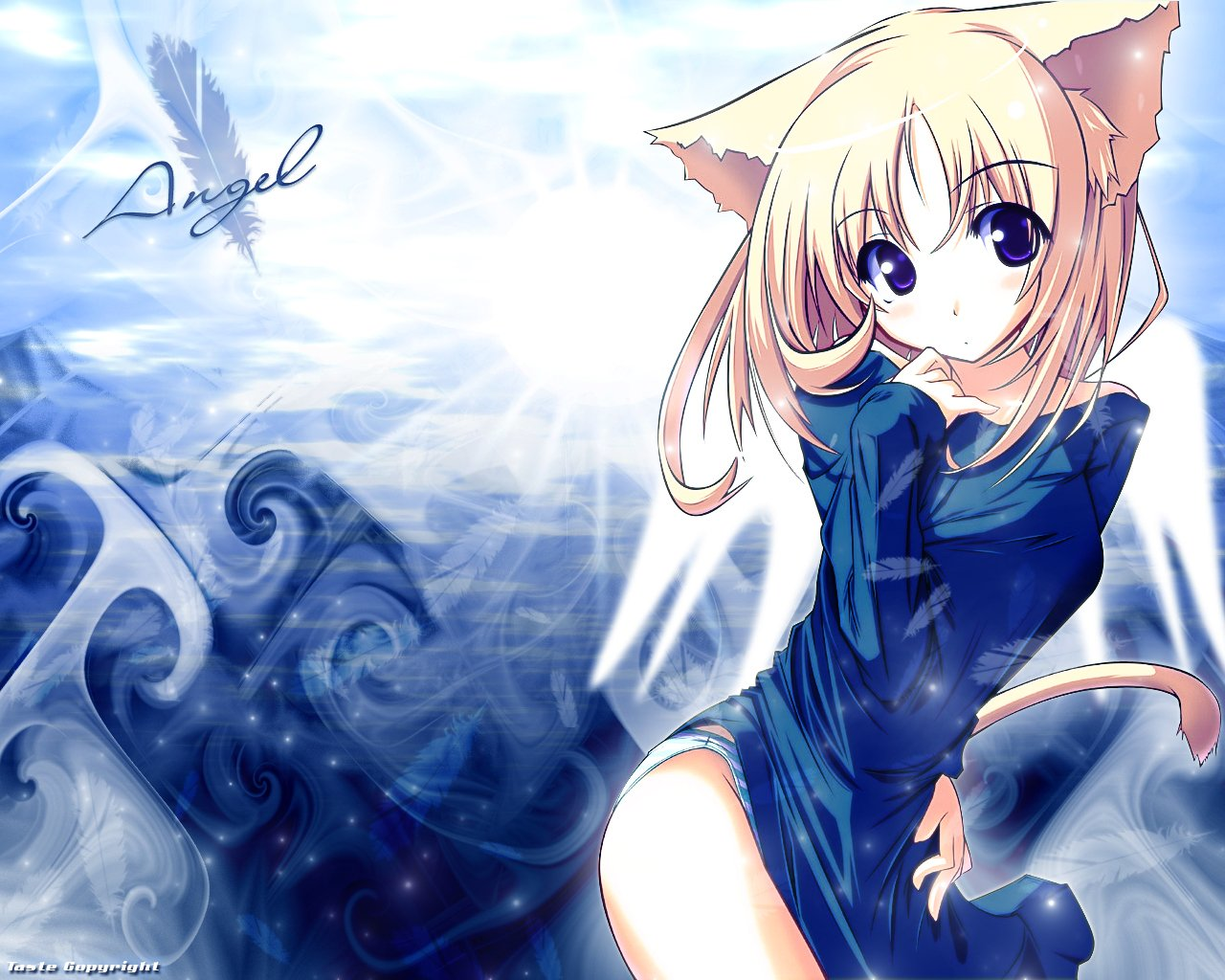 catgirl lindo wallpaper   ForWallpapercom 1280x1024