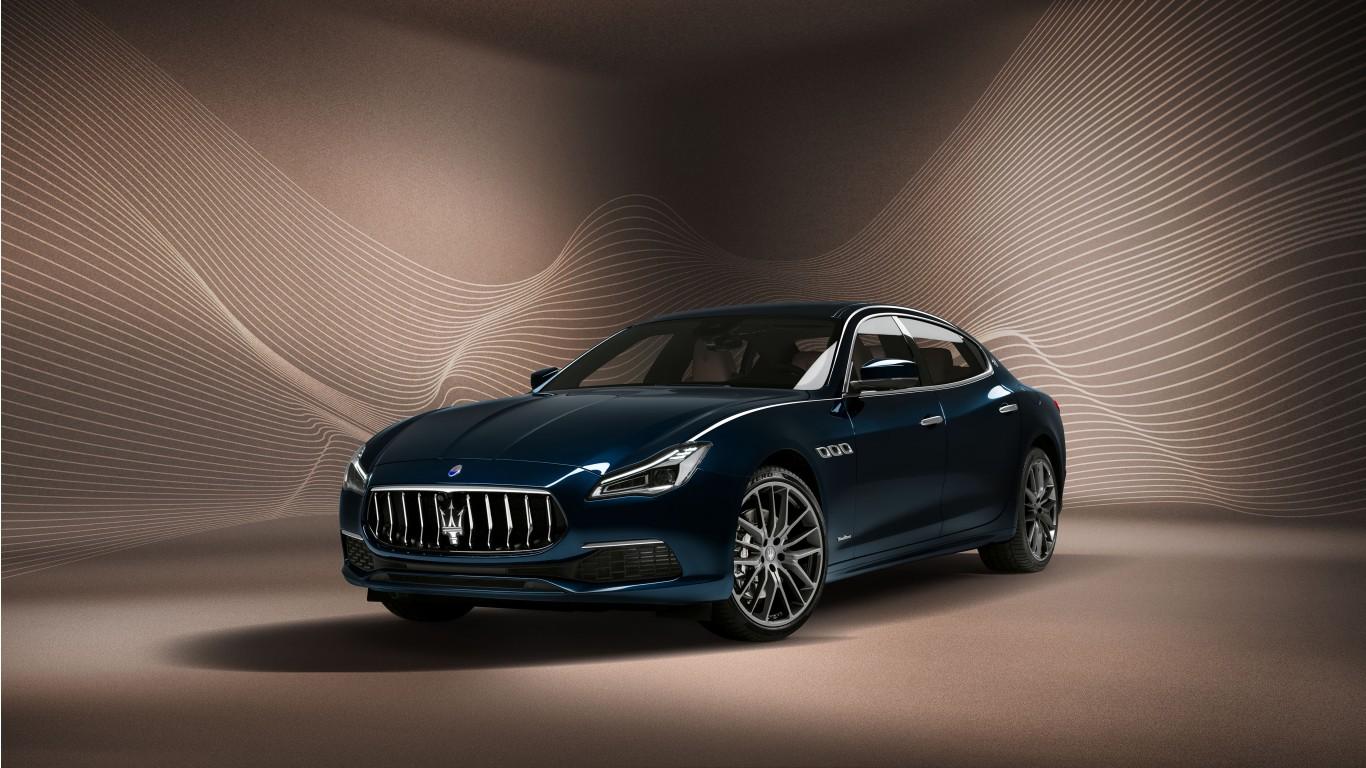 Maserati Quattroporte GranLusso Royale 2020 5K Wallpaper HD Car 1366x768