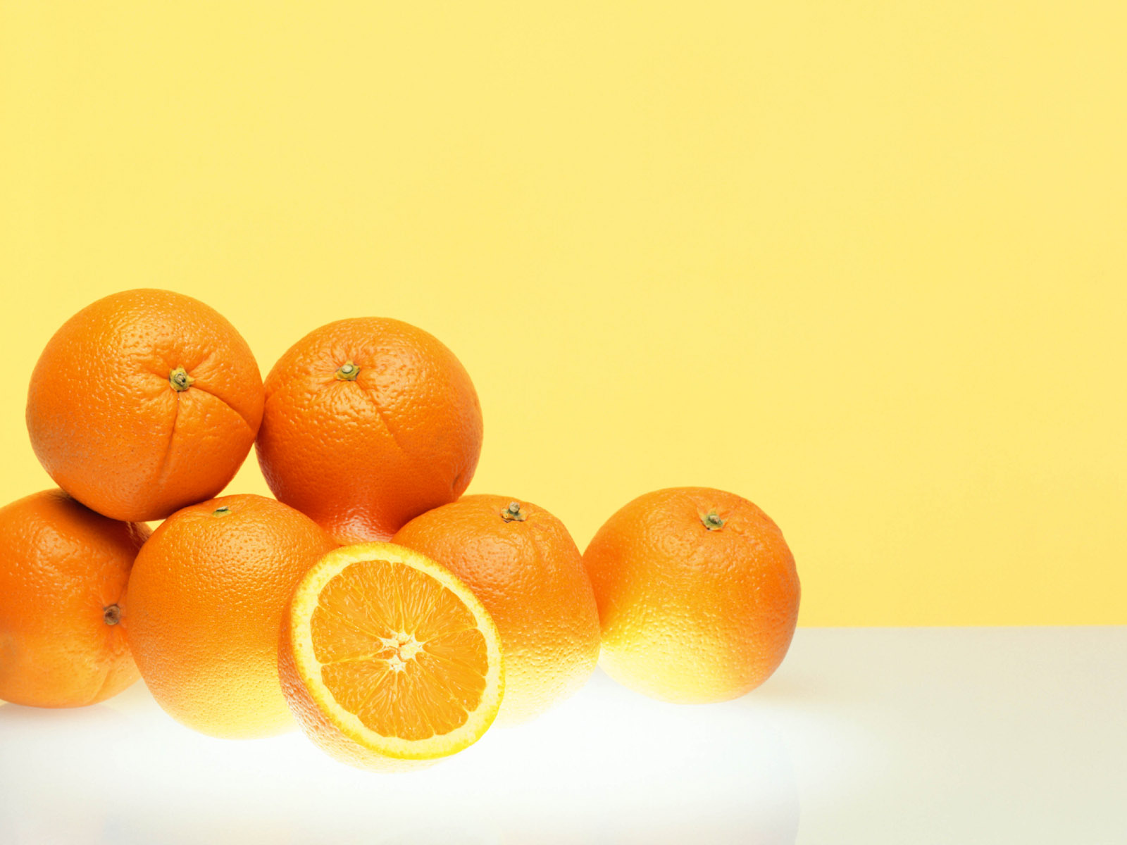 Orange Fruit HD Wallpaper Background Images 1600x1200