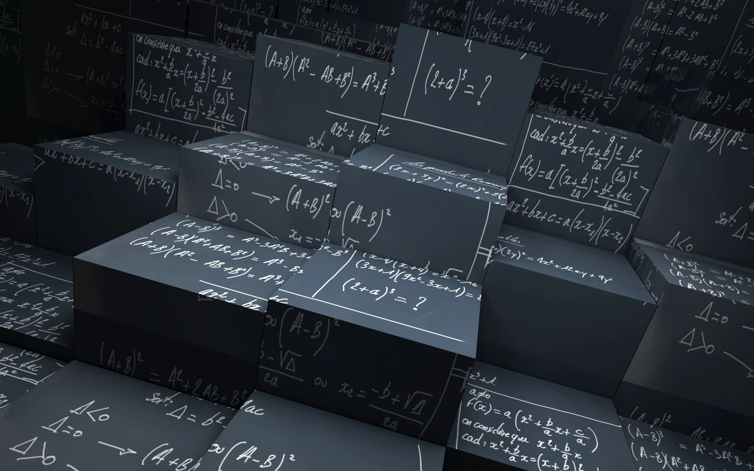 Mathematics HD Desktop Wallpapers 2560x1600