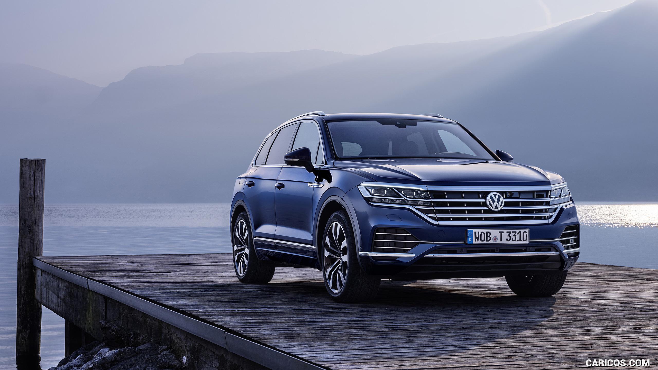 2019 Volkswagen Touareg Elegance   Front HD Wallpaper 78 2560x1440