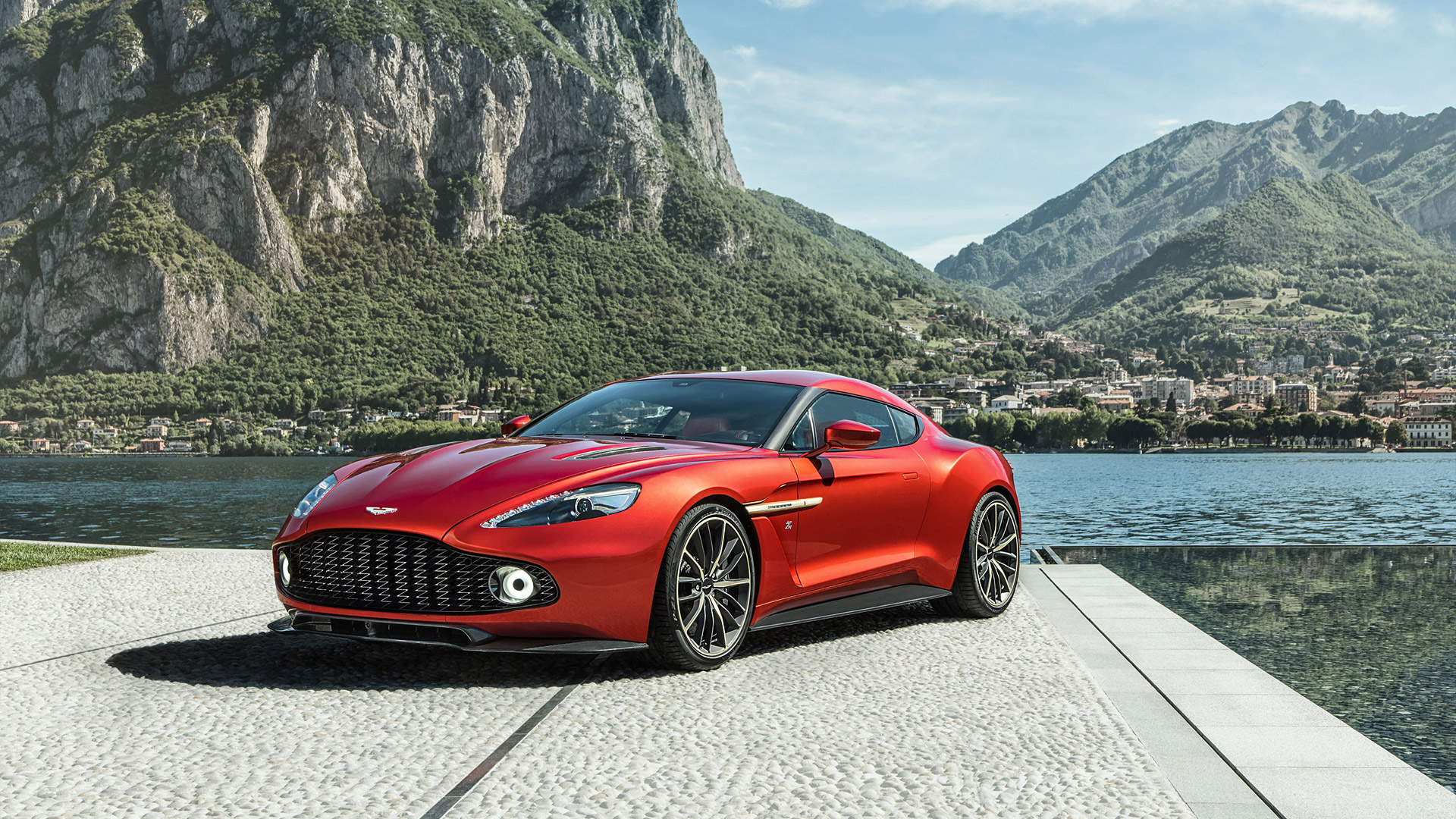2017 Aston Martin Vanquish Zagato Wallpapers HD Images   WSupercars 1920x1080