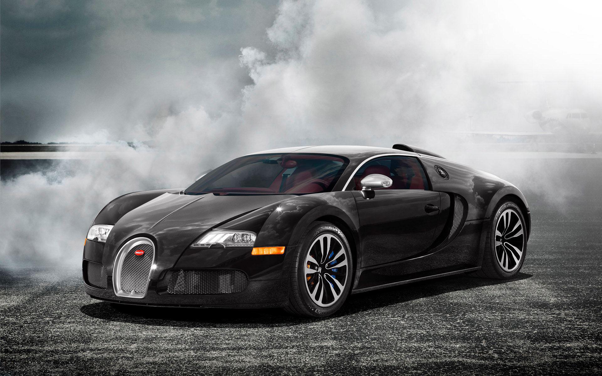 Bugatti Veyron Black Exclusive HD Wallpapers 2212 1920x1200