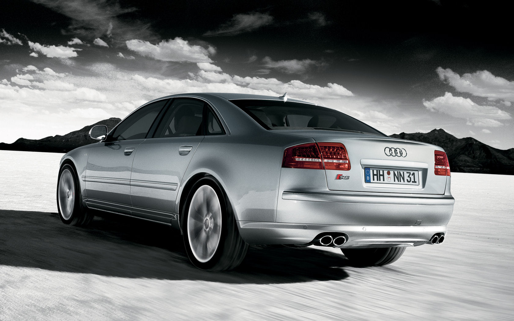 Audi A8 A8L 42 W12 S8 Quattro   Widescreen Wallpaper 1680x1050