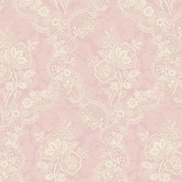 Image Gallery light pink lace wallpaper