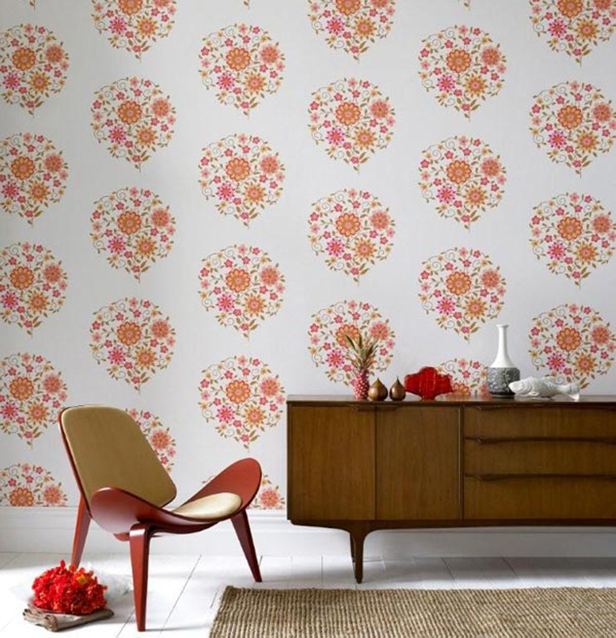 Simple Wallpaper Design Ideas One of 5 total Snapshots Modern Luxury 1200x1244