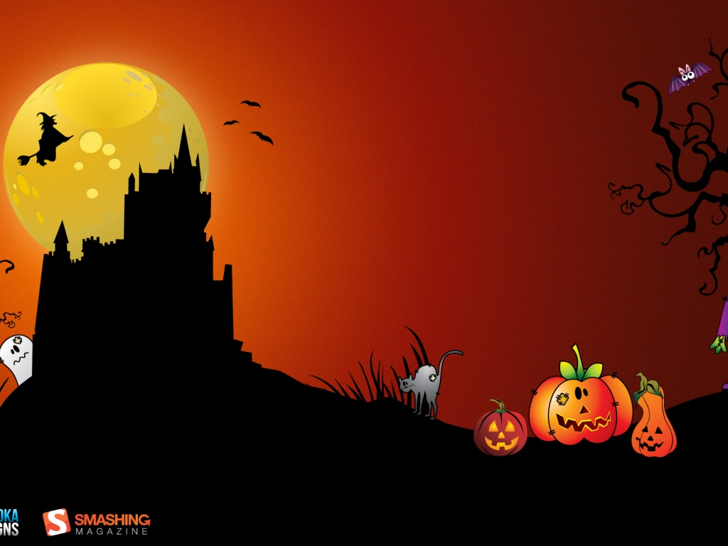 Desktop Wallpaper Halloween Wallpaper Background 1024x768