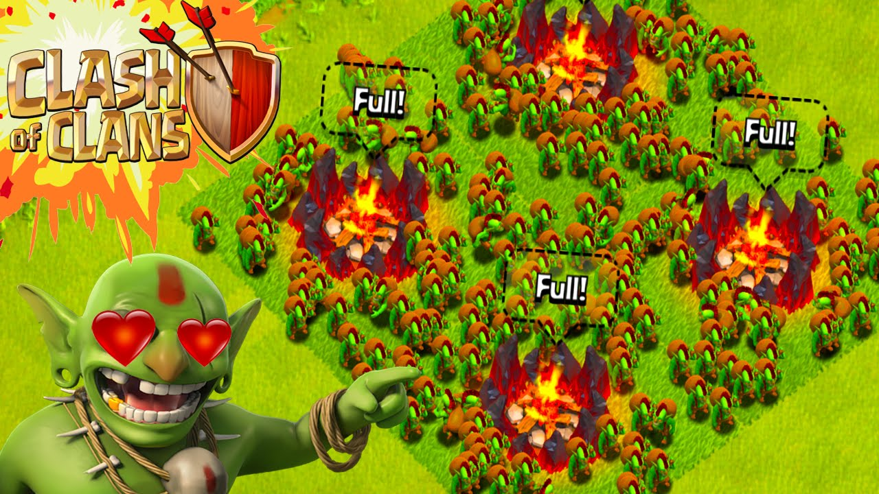 Clash of Clans Goblin Wallpaper HD Full HD Pictures 1280x720