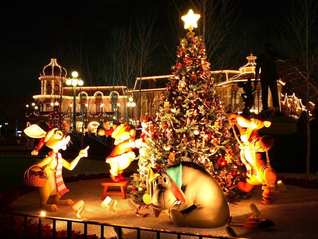 Disney Christmas   Christmas Wallpaper 7491892 1024x768