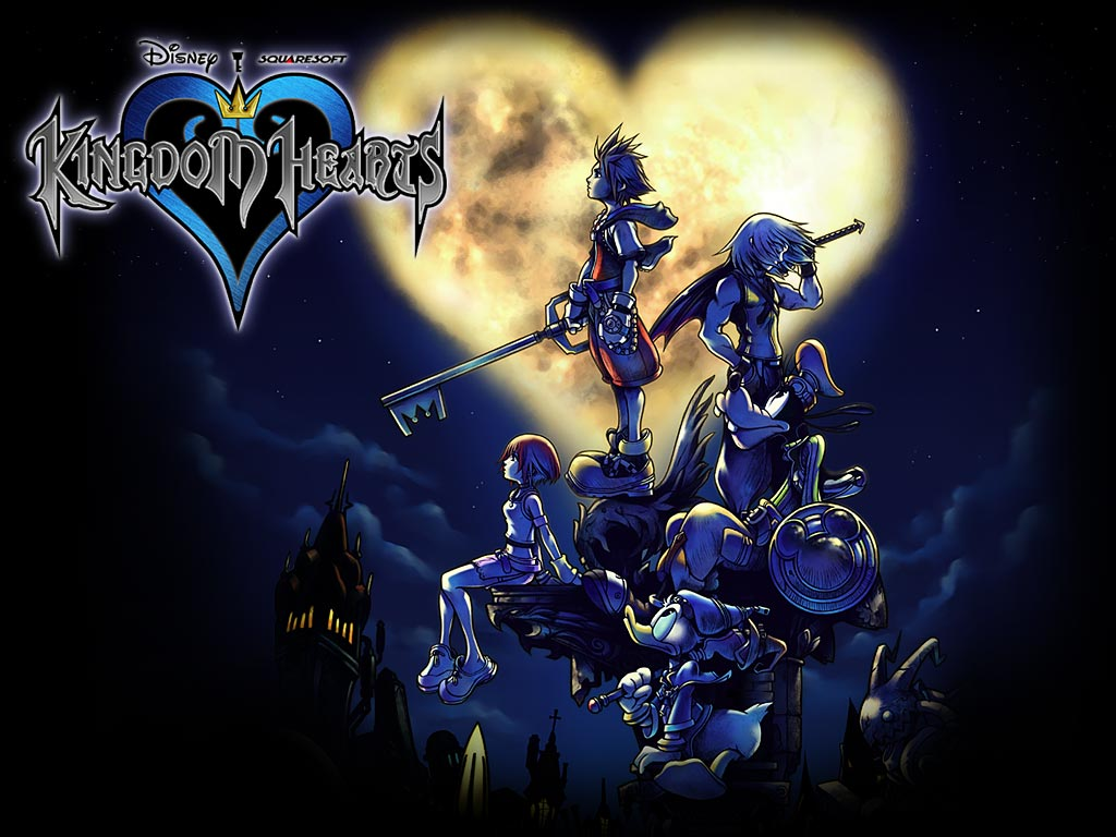 Mestre Kingdom Hearts Kingdom Hearts 1024x768