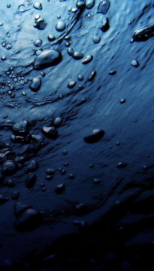 Free Download Dark Blue Water Iphone 5s Wallpaper Download Iphone