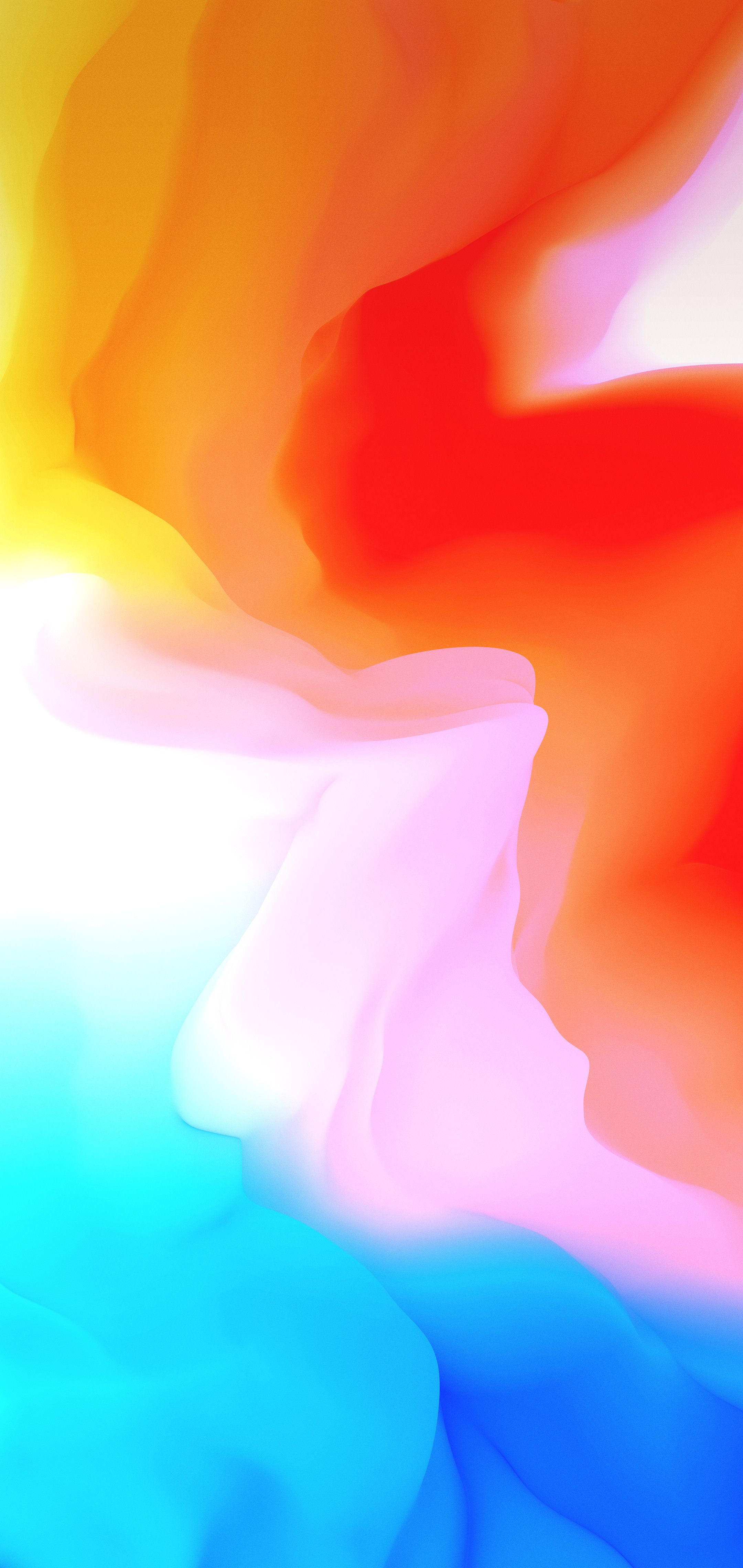 OnePlus 6 Wallpapers Beautiful Wallpaper Pinterest Orange 2160x4560
