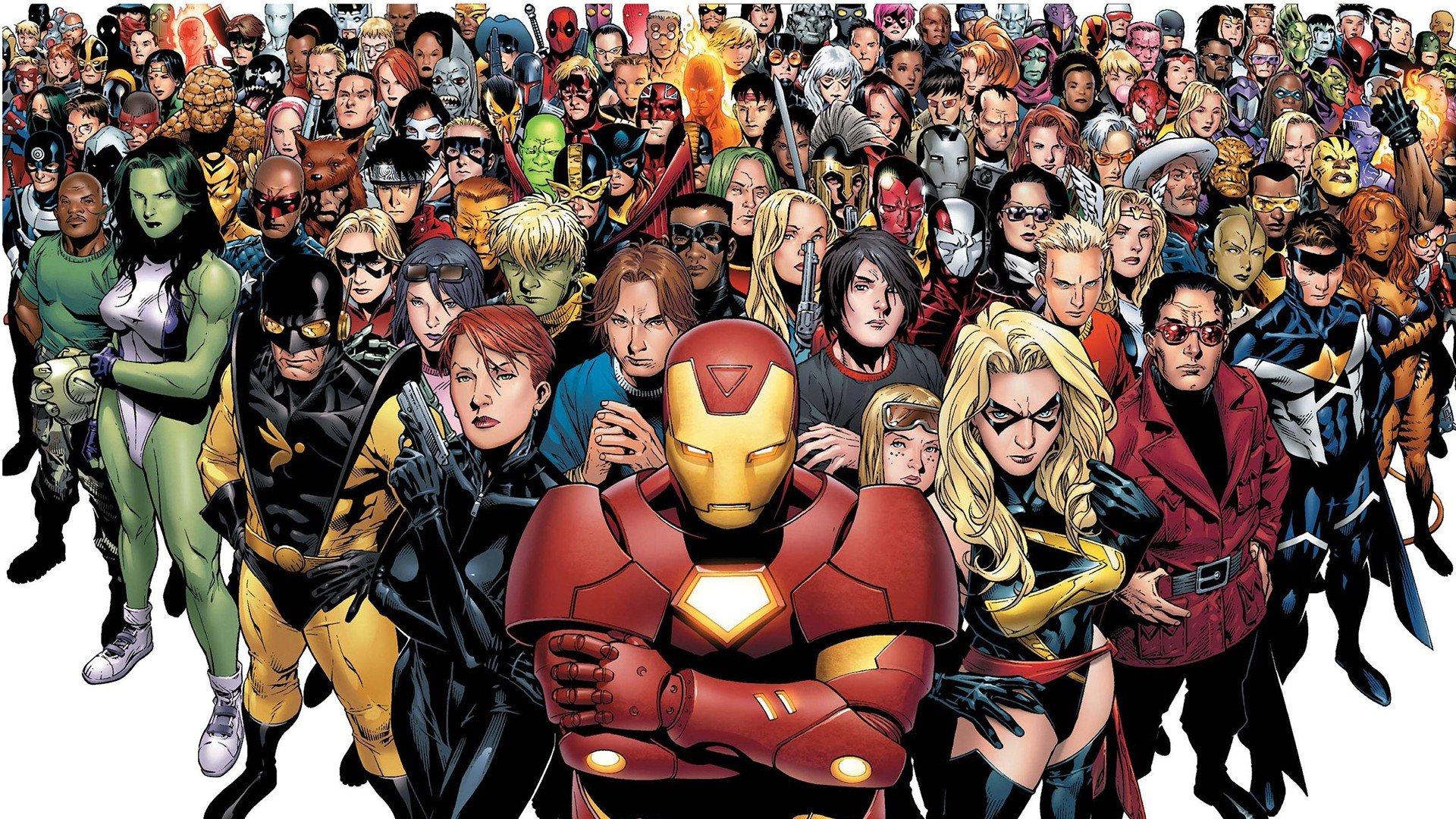 Marvel Civil War Comic Wallpapers WallpapersIn4knet 1920x1080