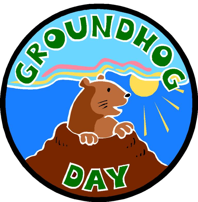 Groundhog Day 2020 Clipart 768x782