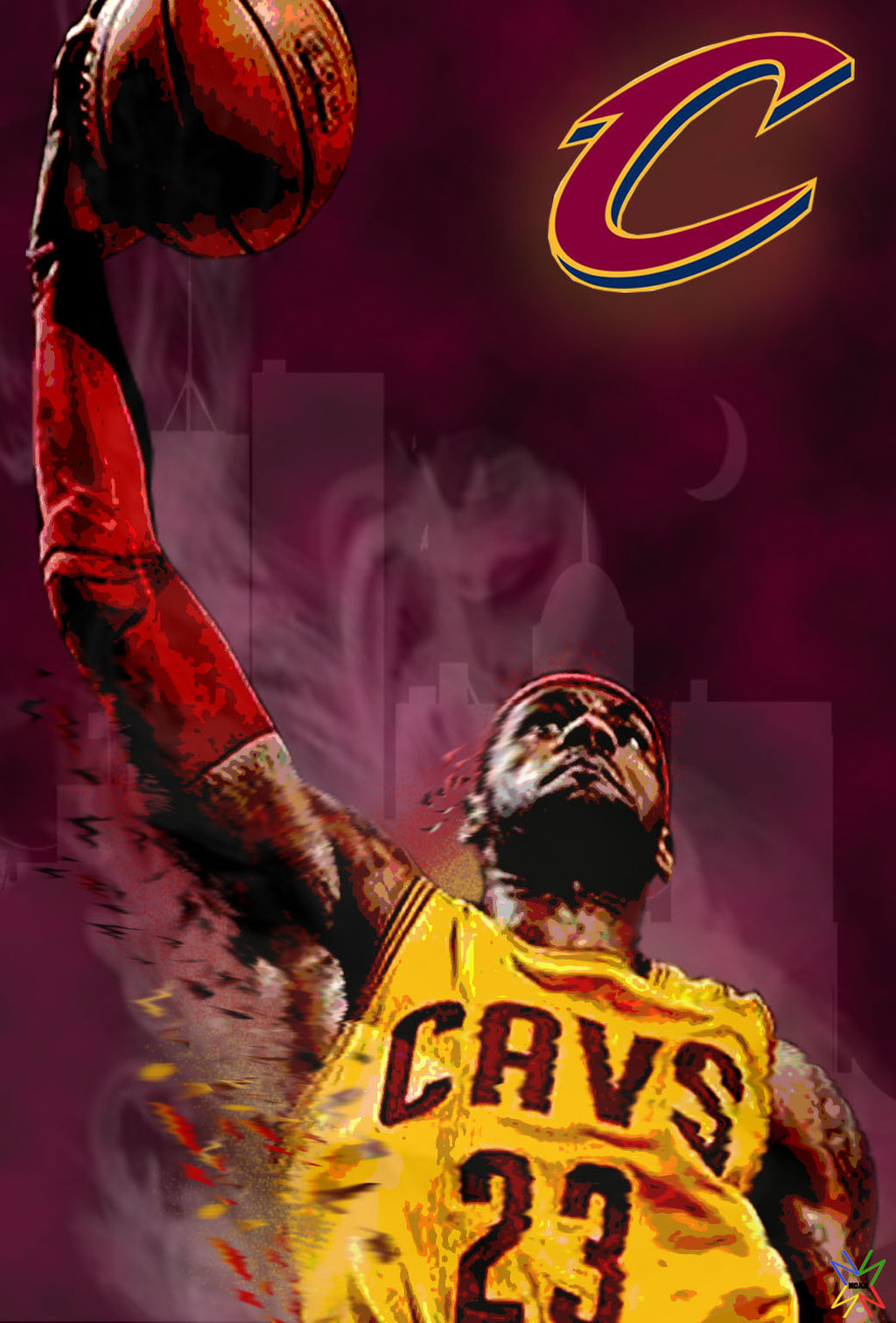 Cleveland cavaliers wallpaper hd wallpapersafari - Cleveland cavaliers wallpaper ...