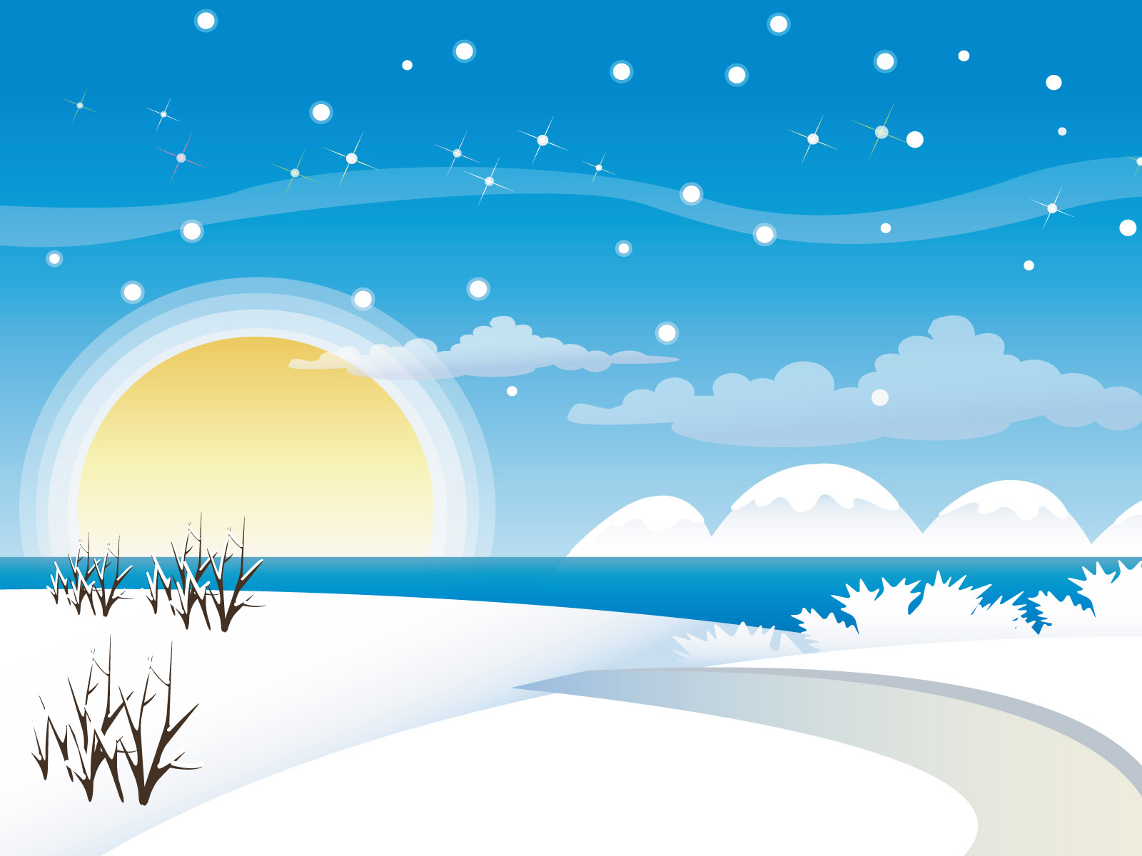 48 ] Cartoon Winter Wallpaper On WallpaperSafari