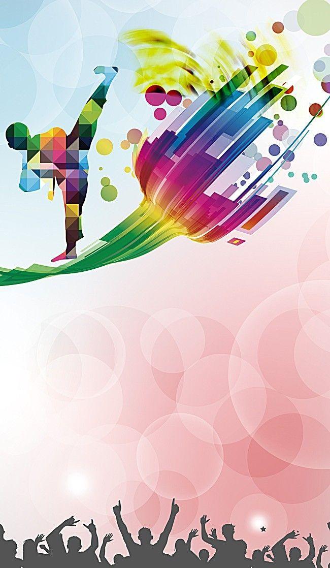 Taekwondo Background Color Colorful backgrounds Taekwondo 650x1118