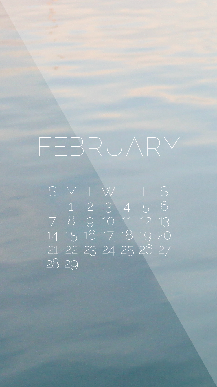 February 2016 Desktop iPhone Wallpapers 750x1334
