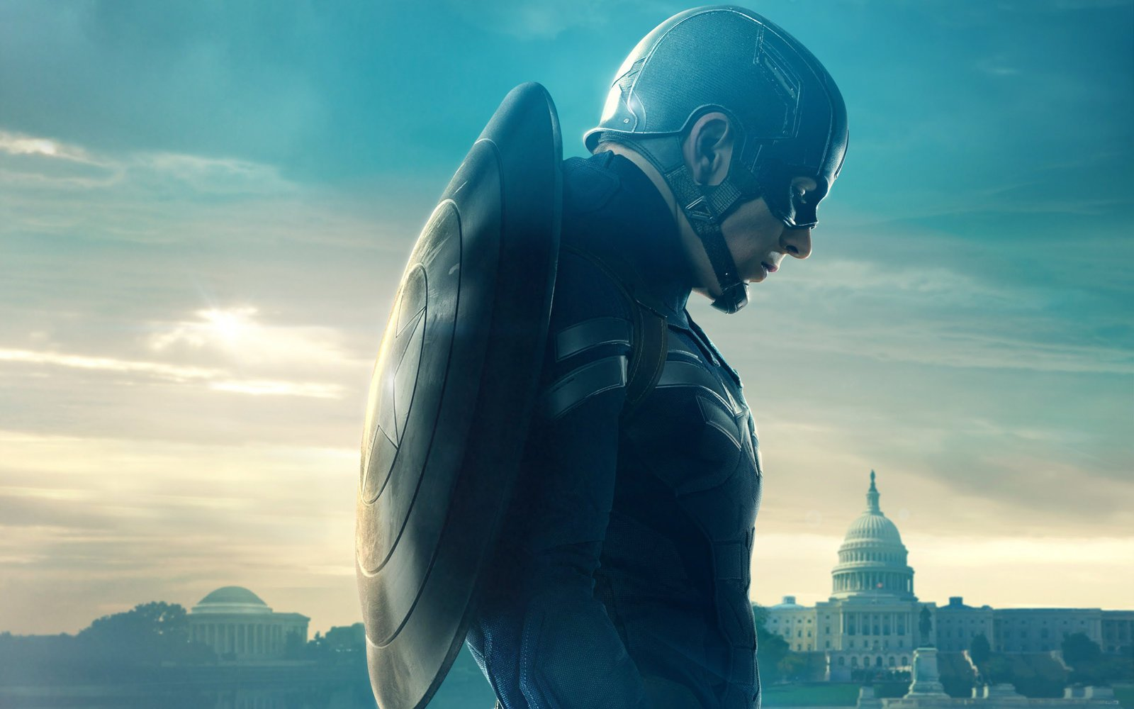 CAPTAIN AMERICA 2 WALLPAPER HD by afel7 1600x1000