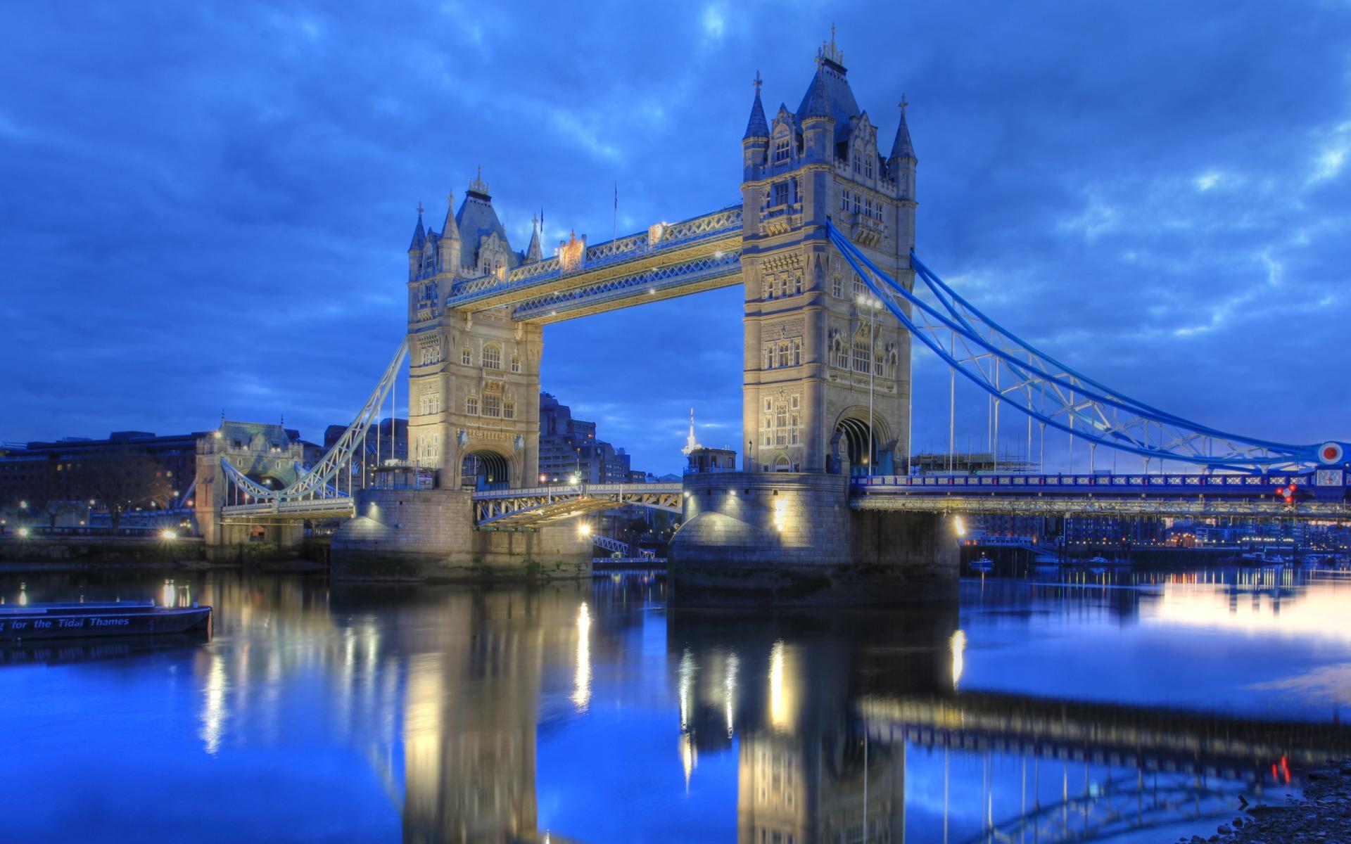 London Tower Bridge Wallpaper 1920x1200