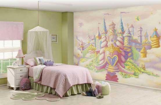 Kids Bedroom Theme Ideas Images Kingdom Wallpaper for Kids Bedroom 554x362