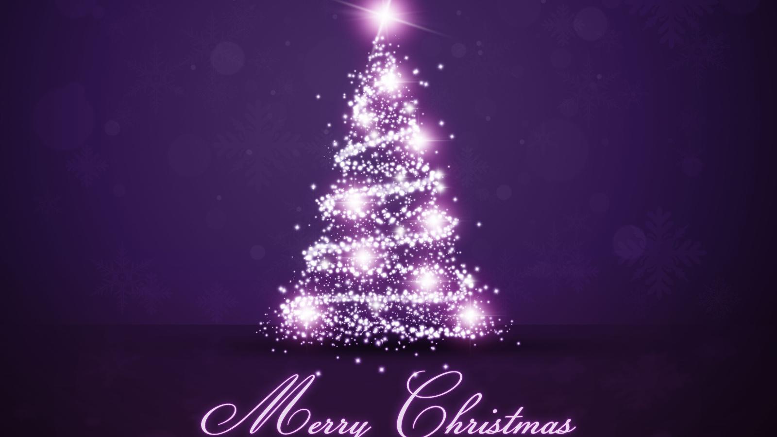 47 christmas wallpaper 1600x900 widescreen on - Purple christmas desktop wallpaper ...