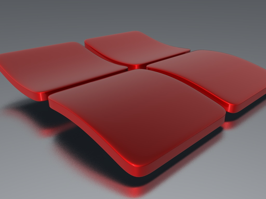 Red 3D HD background Red 3D wallpapers 1024x768