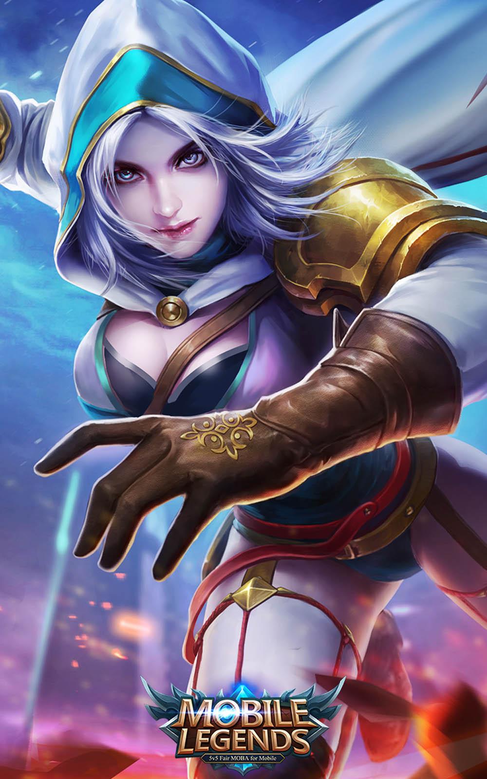 Download Natalia Mobile Legends Hero Pure 4K Ultra HD Mobile 1000x1600