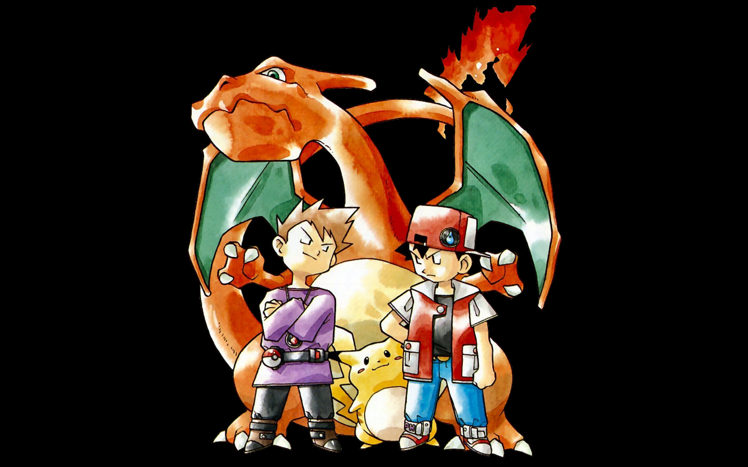 Free Download Pokemon Trainer Red Wallpaper 2560x1600 For Your