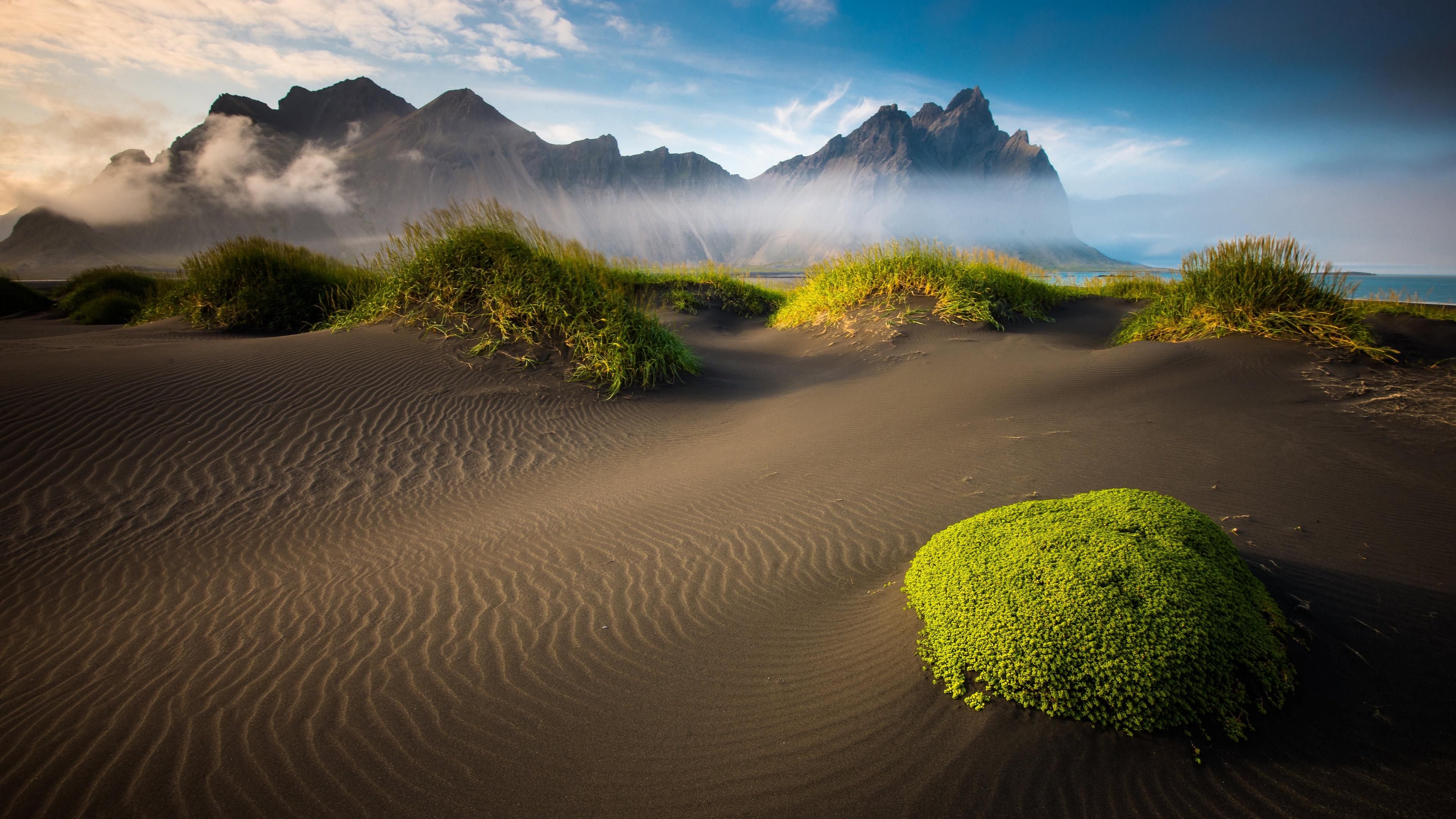 Icelandic Beach Landscape 3840 x 2160 3840x2160