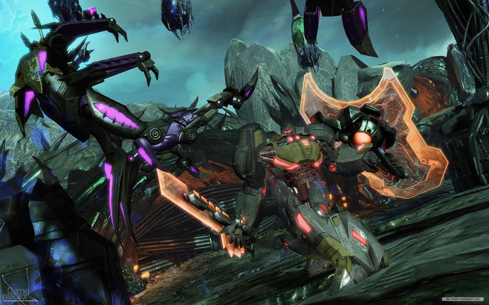 Transformers Fall Of Cybertron wallpaper 1920x1200