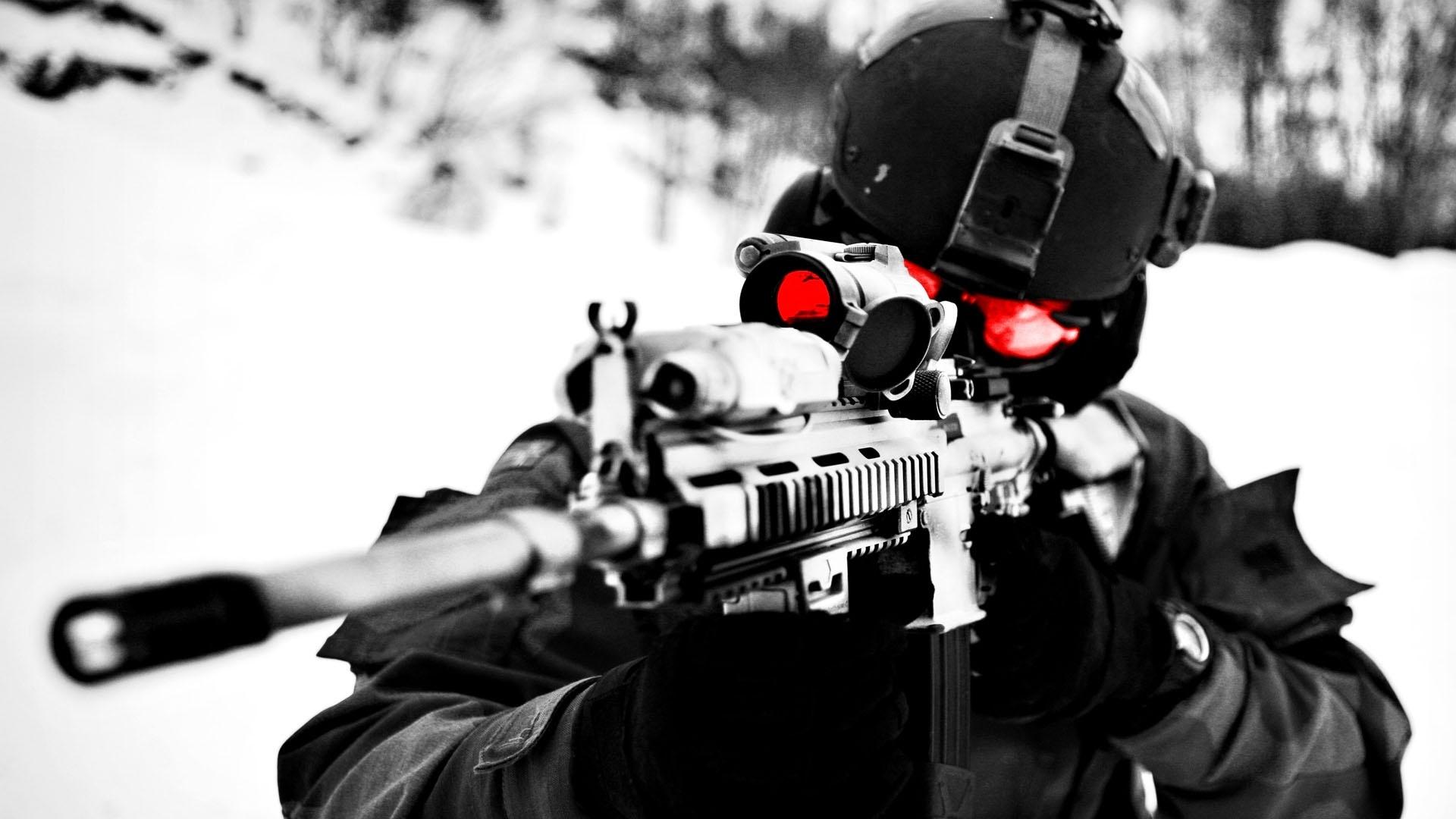HQ Sniper In The Winter War 1920x1080 Wallpaper   HQ 1920x1080