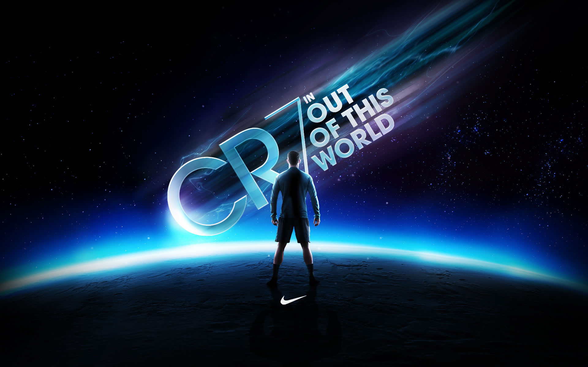 CR7 Out of this world Nike Wallpaper   Cristiano Ronaldo Wallpapers 1920x1200