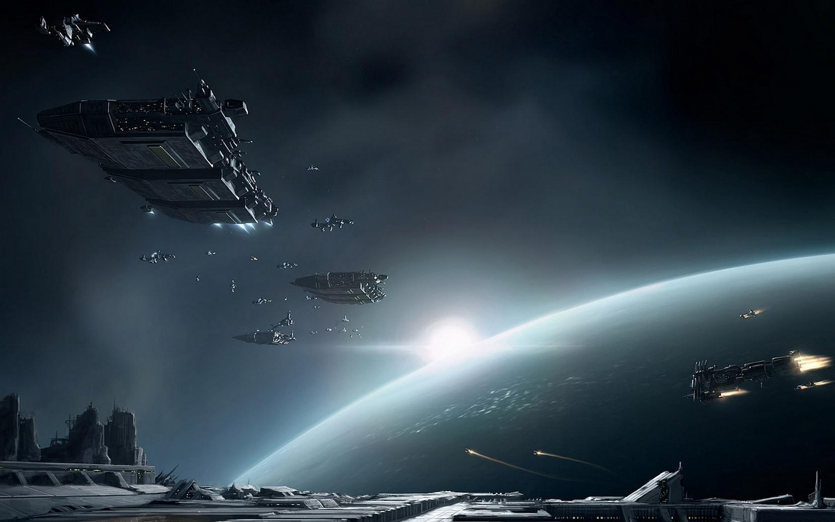 Free Sci Fi Fantasy Desktop Wallpaper: Science Fiction Wallpapers
