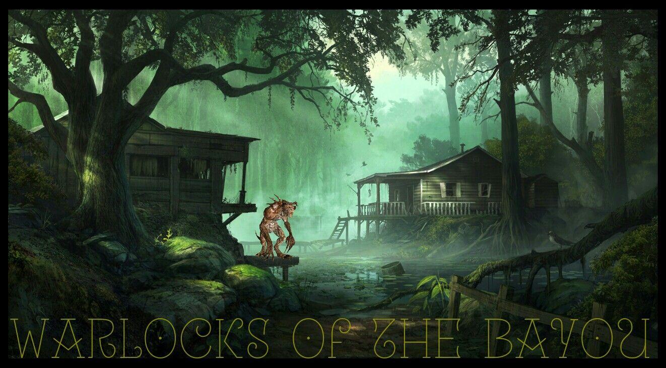 ORIGINAL Warlocks of the Bayou Fantasy Horror Series Witches 1322x731