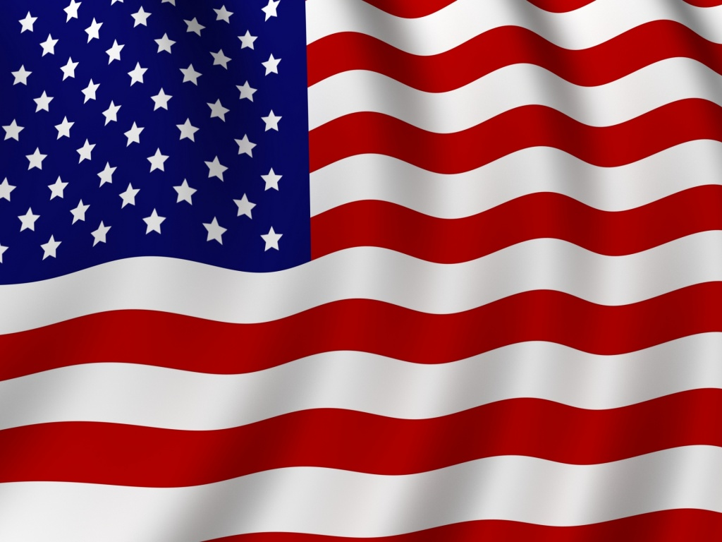 Pin 3d American Flag Christmas Cottage Falling Leaves Screensaver on 1024x768