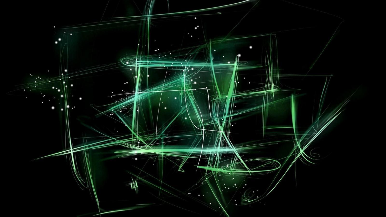 Abstract Black Green Hd 1600x900 pixel Popular HD Wallpaper 41399 1600x900