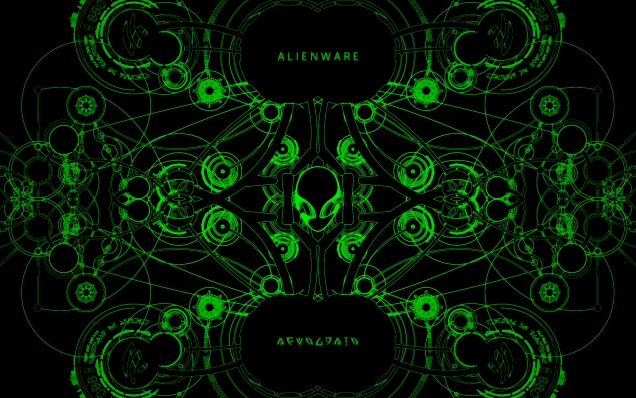 Alienware Wallpaper Green Alienware wallpaper 636x398