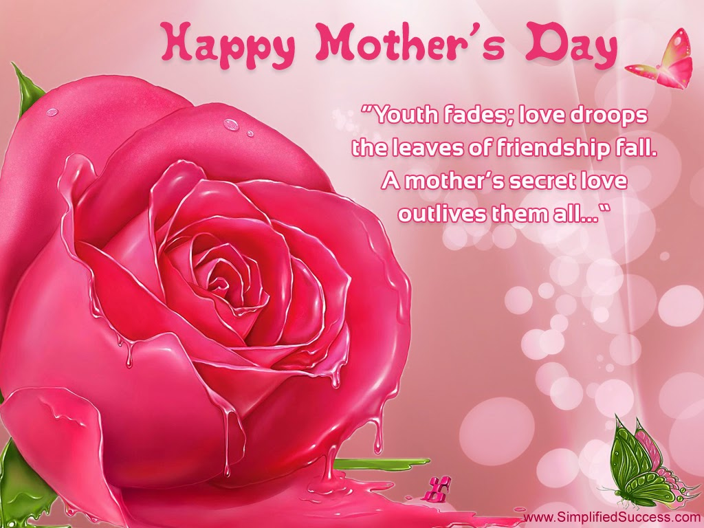download happy Mothers day flowers images graphics pics Happy 1024x768