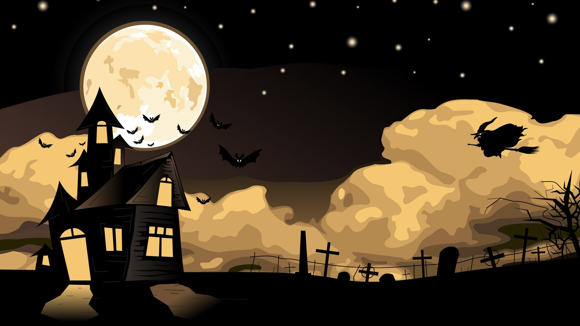 Halloween Wallpapers 30 Wallpapers Desktop Wallpapers HD 1920x1080