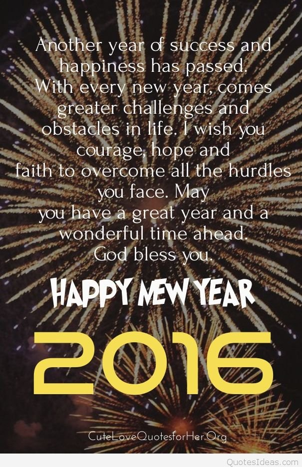 Happy new year quotes wallpapers to share on Facebook 605x936