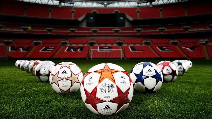 Champions League Balls HD Wallpaper   WallpaperFX 804x452