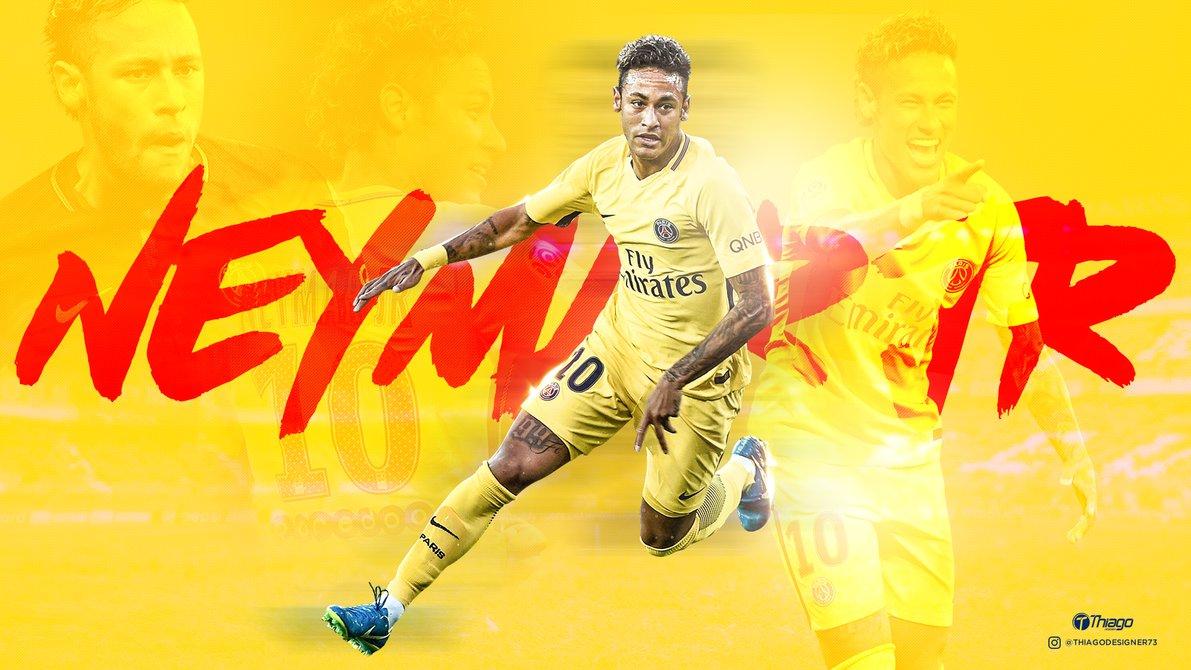 Wallpaper Neymar Jr PSG by THIAGOJUSTINO 1191x670