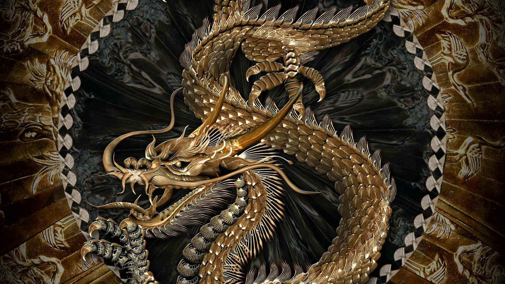 3D Chinese Dragon 1920 x 1080 Download Close 1920x1080